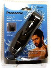 ER2403K PANASONIC Wet/Dry Hair & Beard Travel Trimmer, Uses two AAA batteries