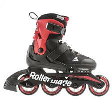 Rollerblade Macroblade Black/Red Kids Size 2-5 2020 Model
