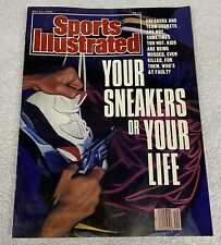 SPORTS ILLUSTRATED - YOUR SNEAKERS OR YOUR LIFE - May 1990 - Nike Air Jordans