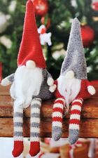 Crochet Pattern ELVES Santas Little Helpers ELF Amigurumi Shelf Toy XMAS 2 Sizes