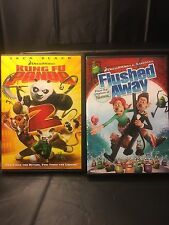 Kung Fu Panda 2 & Flushed Away 2-MOVIE SPECIAL!! LIKE NEW!!