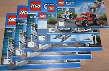 Lego City 60141 Police Station instruction manual BOOKS ONLY new