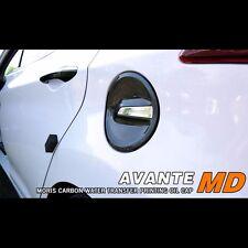 Carbon Fiber Fuel Oil Cap Cover Replace For Hyundai Elantra Avante MD 2011~2015