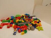 150 mega bloks lot assorted pieces sizes duplo building blocks diego