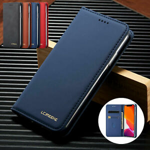 For Samsung Note 10 Plus S8 S9 S10 S20 Ultra Plus Case Leather Wallet Flip Cover