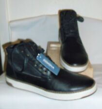 *NWOB* SONOMA~ MENS BLACK ROMNEY CUSHIONED CASUAL ANKLE BOOTS ~ 10-1/2 M