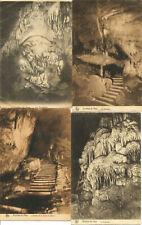 LOT de 7 cartes des Grottes de Han + 1 carte Grotte de Rochefort