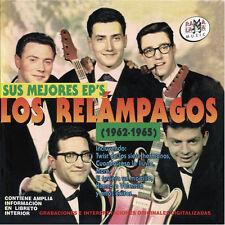 LOS RELAMPAGOS-SUS MEJORES EP´S 1962-1965-CD