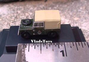 Oxford 1:148 N Gauge Land Rover Series I  Civil Defence Corps NLAN188008