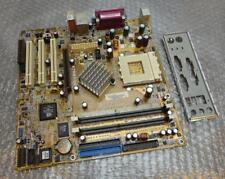 ASUS A7N8X-VM REV 1.02 Socket 462/una scheda Madre Completa Con Piastra Posteriore
