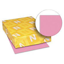 Neenah Paper Astrobrights Colored Card Stock 65 lb. 8-1/2 x 11 Pulsar Pink 250