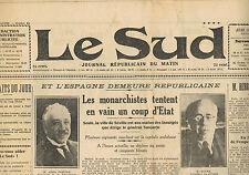 Le SUD Lasalle Anduze Le Vigan Moussac Gagnières Génolhac F.C. Sète 11 Août 1932