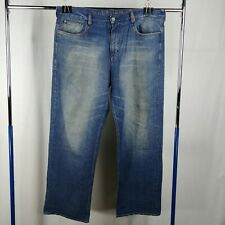 Ecko Unltd. Blue Denim Jeans Mens Size 40 100% Cotton Faded