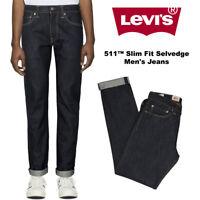 Levis Men's 511 Slim Fit Selvedge Denim Jeans