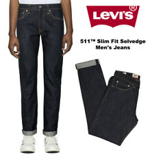 Levis Men's 511 Jeans Denim con orillo Slim Fit