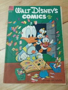 Walt Disney's Comics and Stories 161 February Dell Comic Donald Duck #161 1954