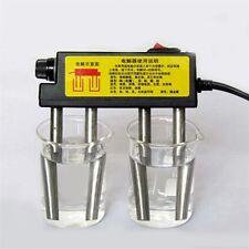 Nouveau électrolyseur eau Electrolysis Apparatus TDS Water Quality Testing 220 V OV