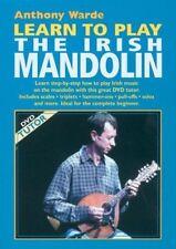 Anthony Warde - Learn To Play The Irish Mandolin - New DVD