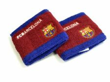 Official Barcelona Football Club Crest 2Tone Sport Sweatbands Wristbands