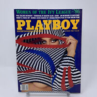 Playboy Magazine October 1986 Women of the Ivy League, Phil Collins Interview