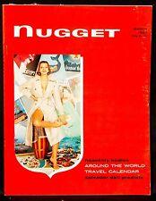 Vintage Adult Entertainment~Nugget Magazine~March 1957~Salvador Dali