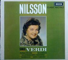 CD BIRGIT NILSSON - sings verdi, ovp