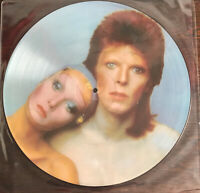David Bowie Pinups Lp Album BOPIC4 Ltd Ed  EX Cellophane Slv + Loricraft Clean