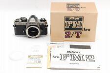 = unbenutzt = Nikon NEU FM2T (Titanium) FM2/T 35mm SLR Film Camera aus Japan #452