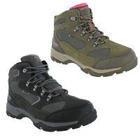 Hi-Tec Storm Waterproof Boots Suede Mesh Lace Up Hiking Walking Trail Womens UK