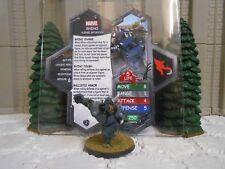 Heroscape Custom Rhino Double Sided Card & Figure w/ Sleeve Marvel