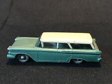 Old Vtg Lesney Matchbox #31 American Ford Station Wagon Grey Wheels Car England