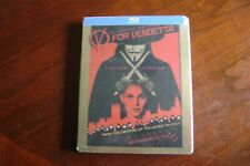 V For Vendetta (Blu-ray Disc, 2012, Steelbook)  FREE SHIPPING Brand new sealed