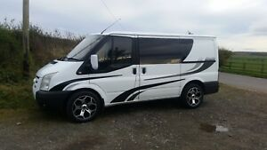 Camper van Motor home graphics kit fake window graphics and extensions included