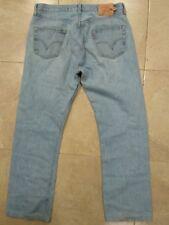 desde España Levi's 501 preciosos jeans azul usados W36 blue vintage (T2)