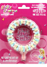 Dicky Charms Multi-Flavored Penis Shaped Candy Necklace