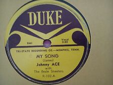 78 Tours JOHNNY ACE-MY SONG/FOLLOW THE RULE