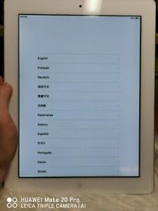 Apple iPad 2 32GB, WLAN+Cellular (Entsperrt) A1396 - weiß Top Zustand 066