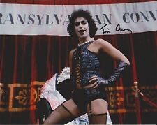 Tim Curry Signed 8x10 Photo - The Rocky Horror Picture Show - SEXY!!! H145
