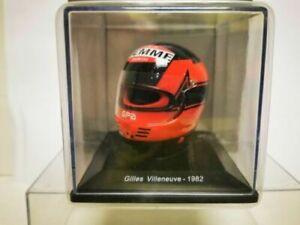 1/5 Helmet / Casco Gilles Villeneuve F1 1982