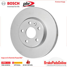 Brake Rotor for PEUGEOT 207CC A7 01/10 - 09/12 Vented Front Pair Genuine Bosch
