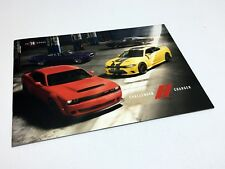 2018 Dodge Challenger Charger Brochure