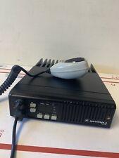 Motorola Maxtrac Vhf 36 42 Mhz16 Ch 60w Mobile Radio D51mja9ja5ak With Mic