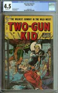 TWO-GUN KID #17 CGC 4.5 OW PAGES // JOE MANEELY COVER