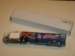 Kellogg's Racing Frosted Flakes semi truck NEW cereal premium Sasco