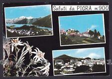 COMO PIGRA 06 SALUTI da... VEDUTINE - TURATE STELLE ALPINE Cartolina viagg 1967