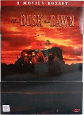 FROM DUSK TILL DAWN TRILOGY Collector's Edition (Thailand 3x DVD Region 3) RARE