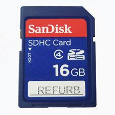 SanDisk 16GB SDSDB-016G SDHC Standard Blue SD Memory Card 100% Genuine Wholesale
