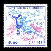 SPM 1992 - Winter Olympic Games Albertville Sky - Sc 577 MNH