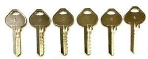 1 Corbin Russwin RU46 A1011D1 Commercial Space and Depth Keys 6 Cut