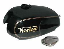 Norton Roadster Commando 750/850 Fuel Gas petrol Tank + Cap Black Paint